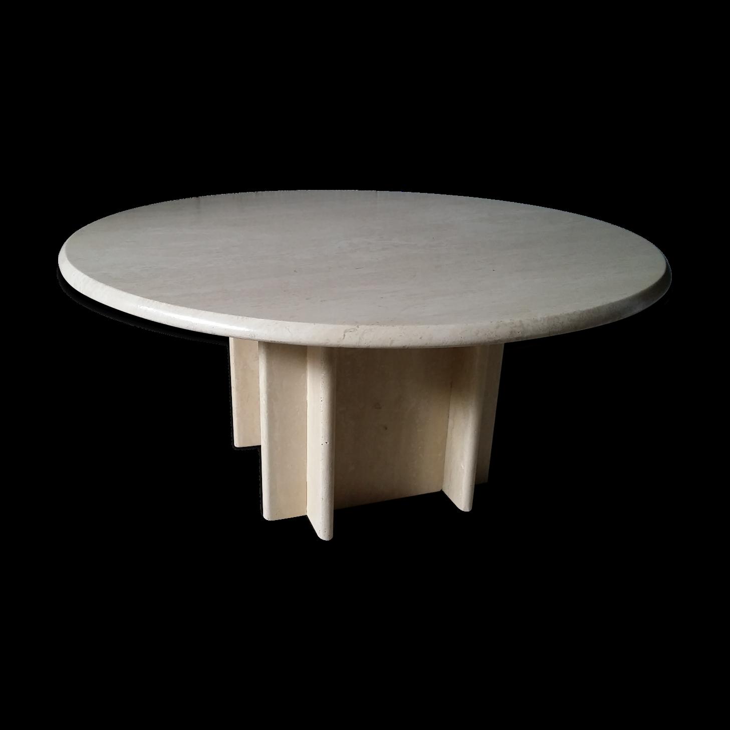 Table Basse Travertin. Table Basse En Fer Table Basse Carrac Bois ...