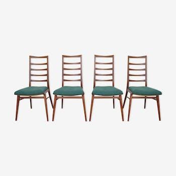 Danish teak dining chairs 1960