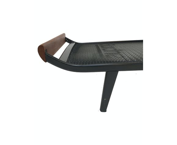 Cleopatra daybed by Dick Cordemeyer teak and metal design daybed Auping