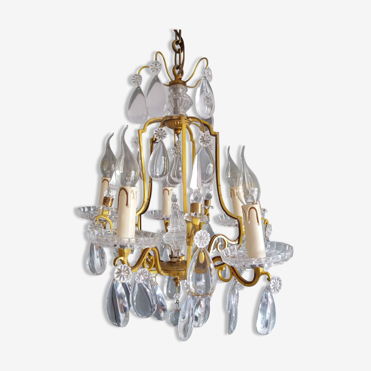 Cage pendants chandelier