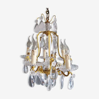 Cage pendants chandelier