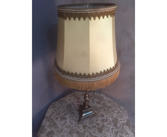 Lampe de table imitation bougeoir