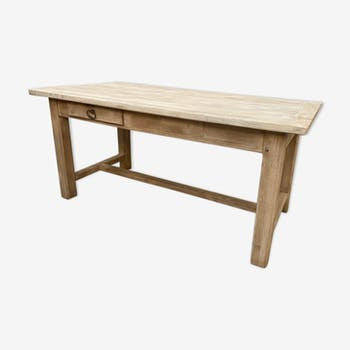 Old oak farm table