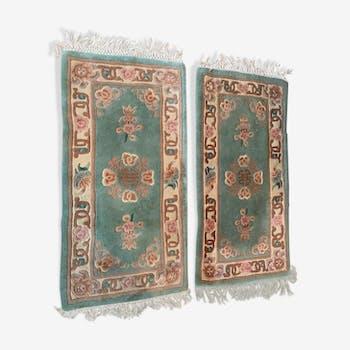 Paire de tapis chinois