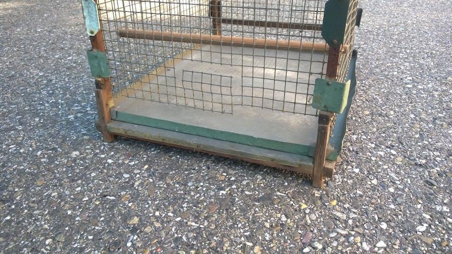 Cage à oiseaux ancienne