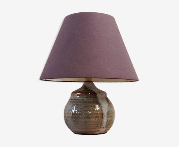 Lampe pied en céramique de Millau