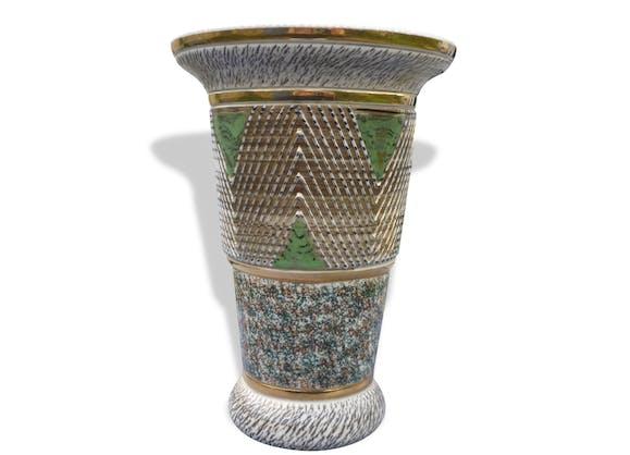 grand vase gres breugnot bonny c ramique porcelaine fa ence vintage 32562. Black Bedroom Furniture Sets. Home Design Ideas