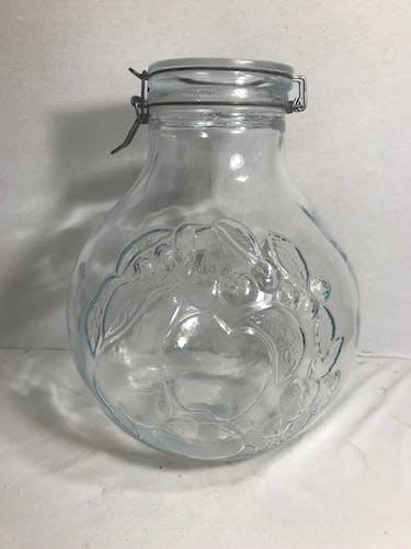 Old rumtopf jar