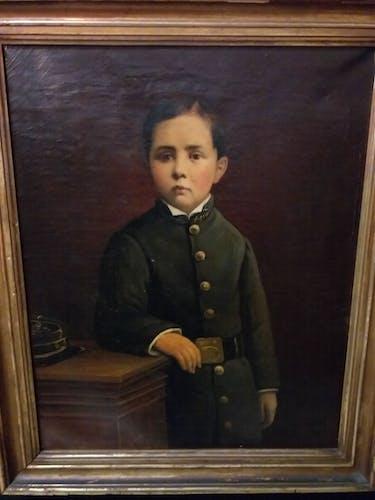Portrait d'écolier De Lunel