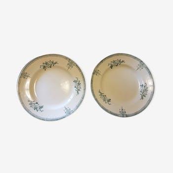 Pair of displays earthenware