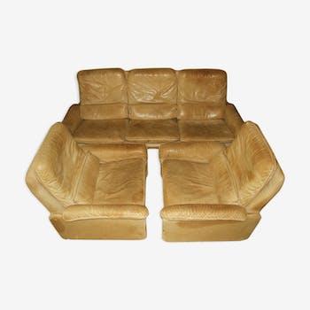 1 sofa + 2 armchairs of Sede® lounge