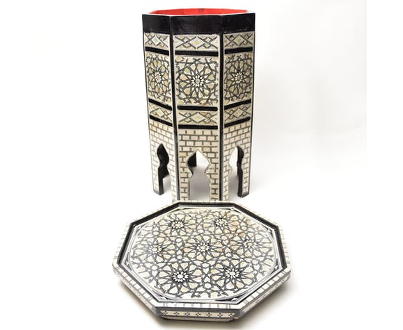 Arab table from the 1930s
