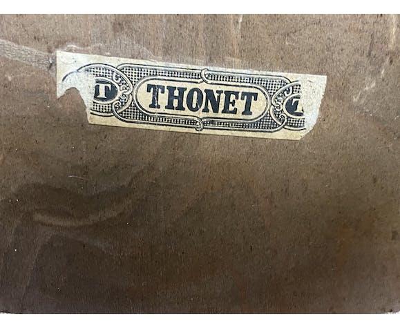 Chaise Thonet des années 1950