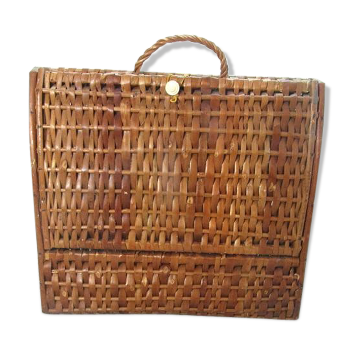 Wicker Briefcase