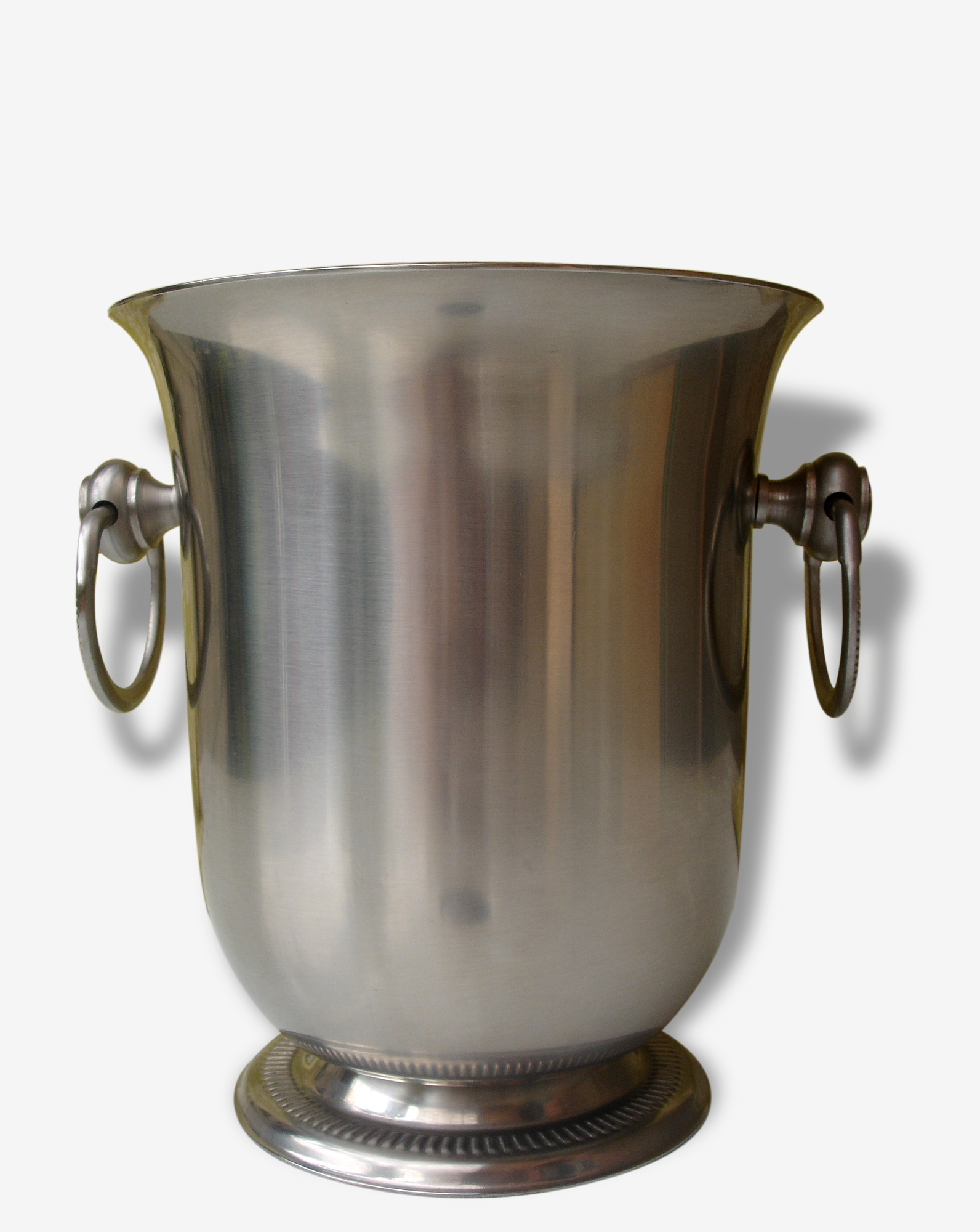 Jean Couzon Orfèvre french stainless steel ice/champagne bucket from the 1970s