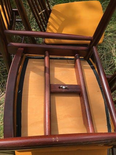 Chaises vintage Welzel années 60