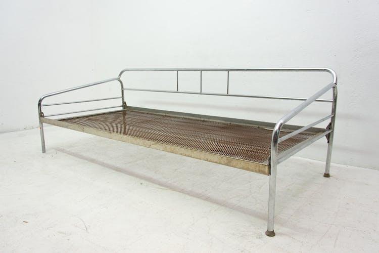 Canapé chromé bauhaus, années 1930