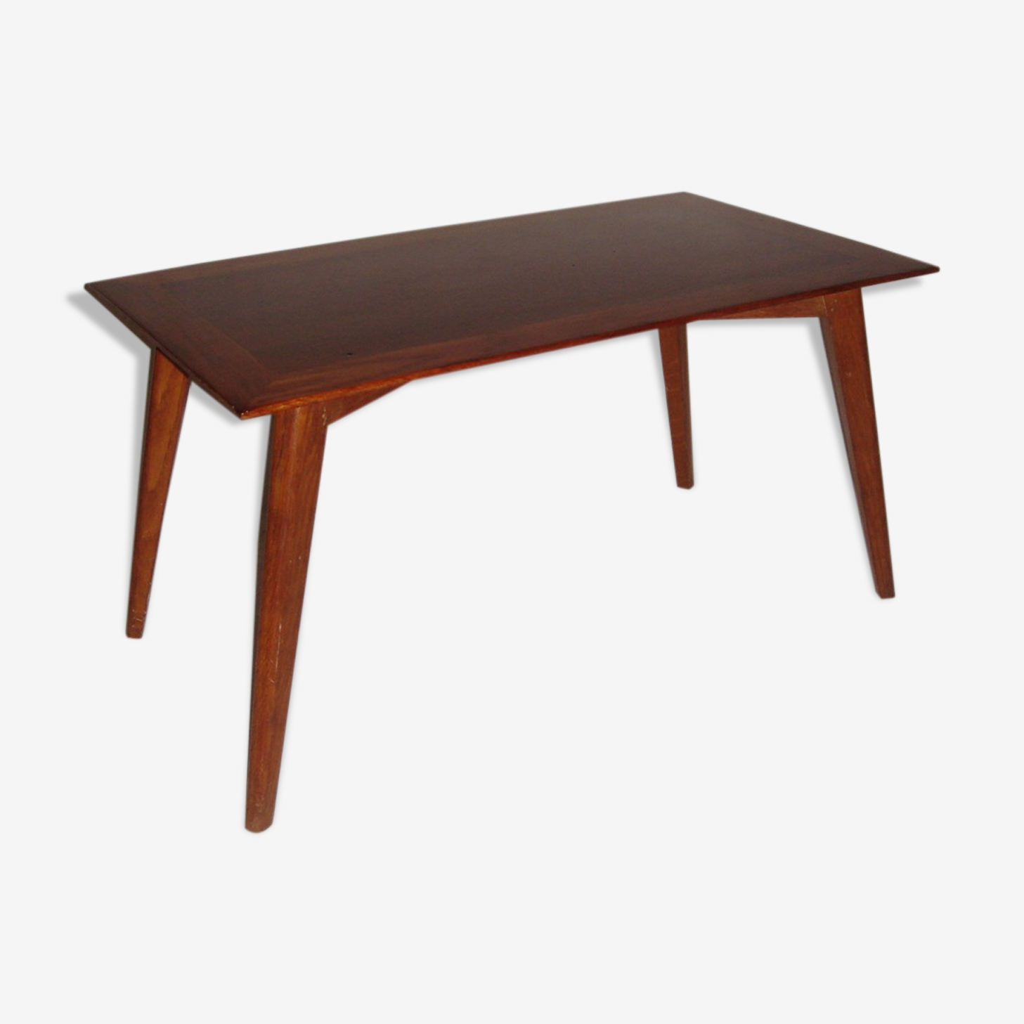 Table scandinave rectangulaire de 1960