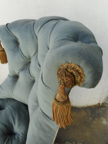 Chair upholstered Toad