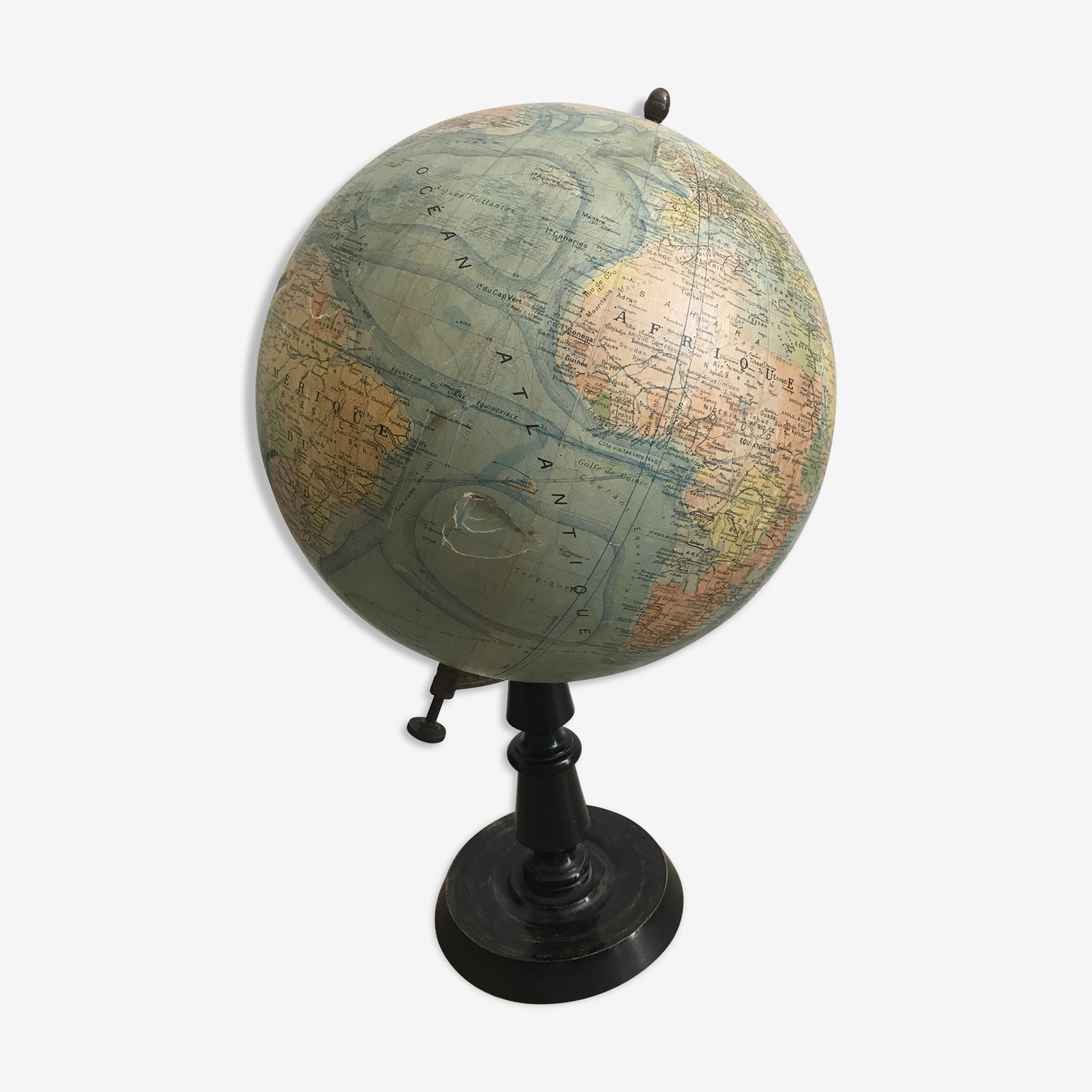 Heart globe by  J Forest