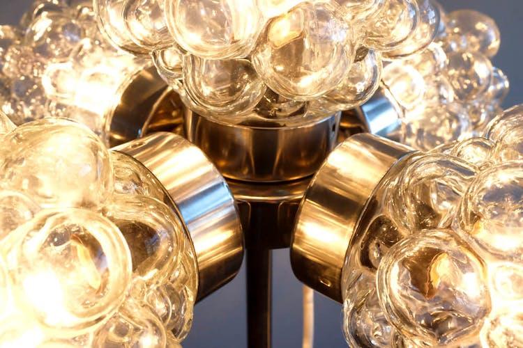 Floor lamp of Kamenický Šenov