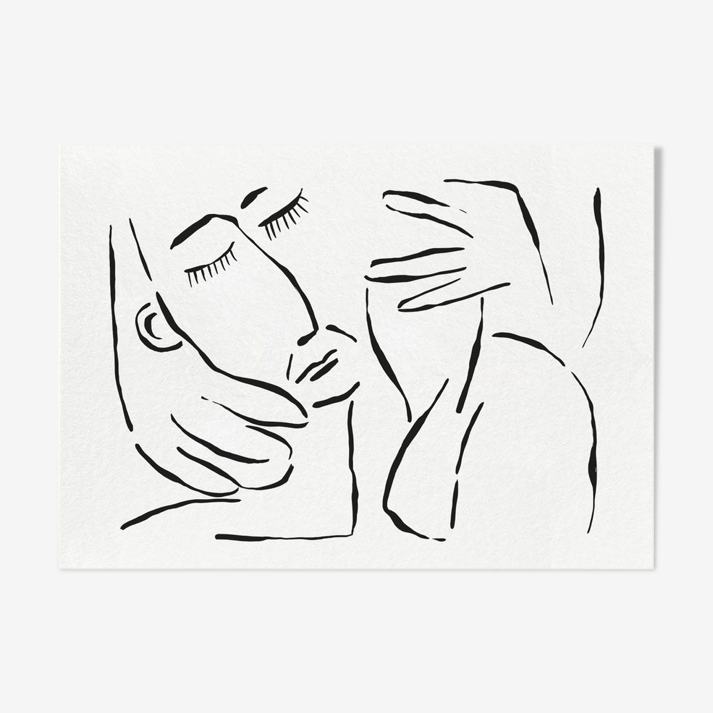 André & Nao - 60 x 42 cm
