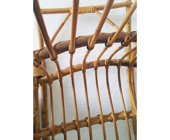 Rattan rocking-chair, for children, 60/70