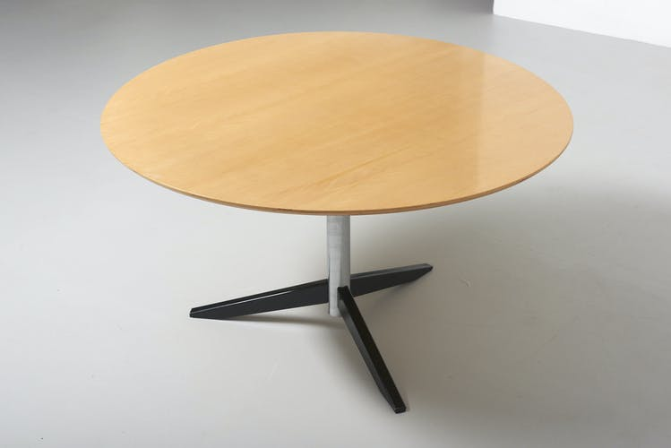 Table à manger modèle TE06 de Martin Visser pour 't Spectrum, Netherland 1961