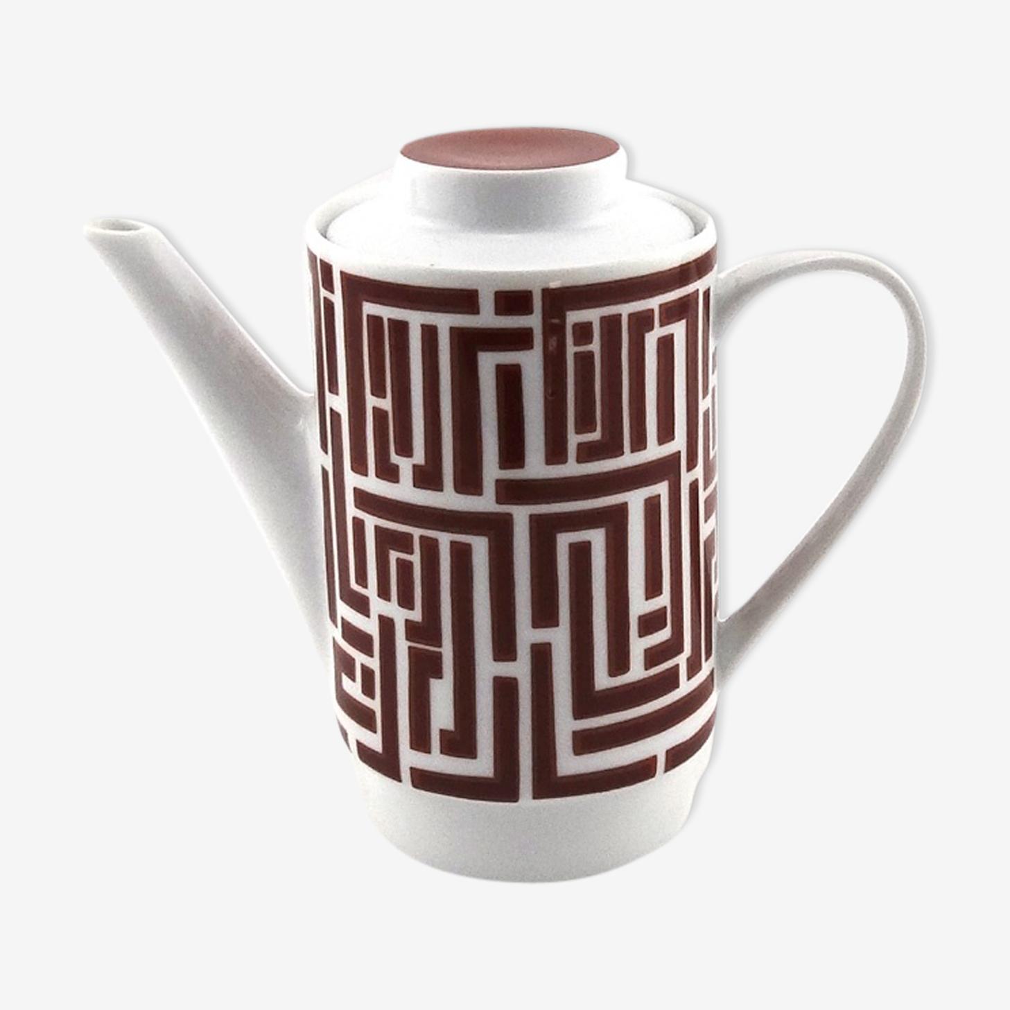 Teapot porcelain 70