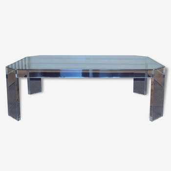 table basse en plexiglas vintage d 39 occasion. Black Bedroom Furniture Sets. Home Design Ideas