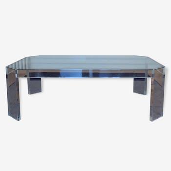 table basse en plexiglas vintage d 39 occasion. Black Bedroom Furniture Sets. Home Design Ideas