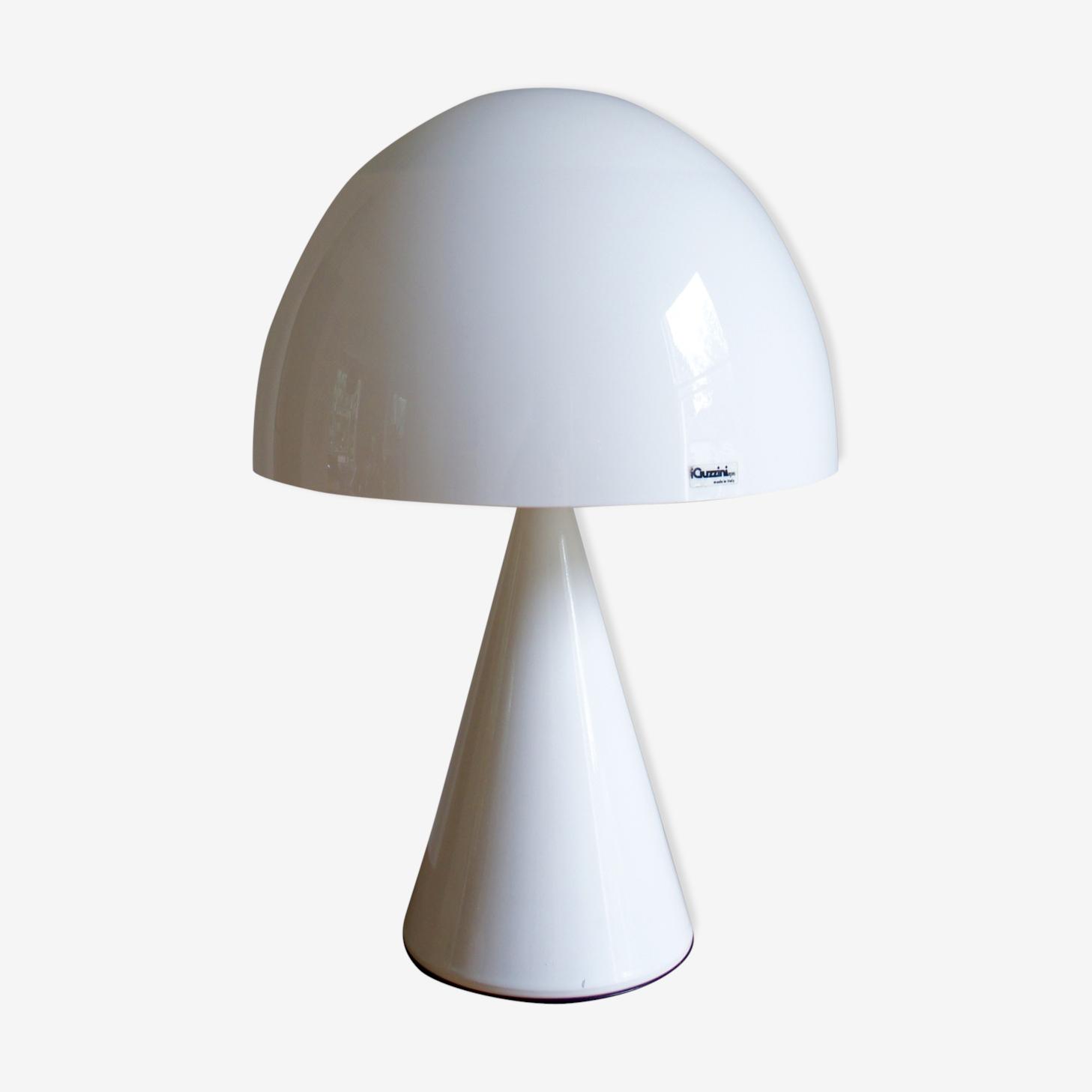 Baobab Lamp By Harvey Guzzini 1970 Metal White Design Trwmpqa