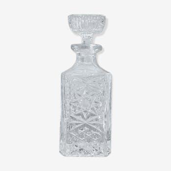 Crystal whisky carafe