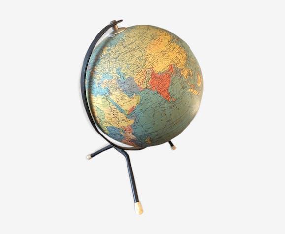 Globe lumineux en verre Taride 1963