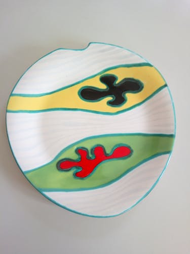 Coupelle en céramique 1960 par Gabriel Fourmentraux
