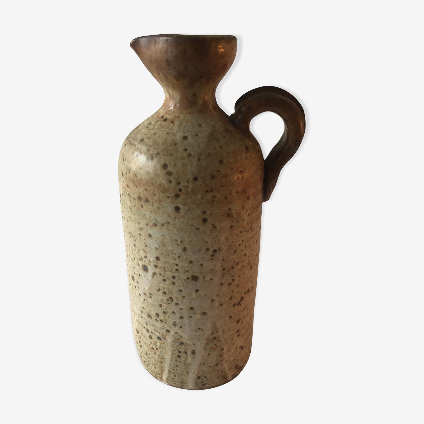 Pichet en céramique grès vintage