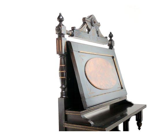 Meuble à partitions de canterbury de l'époque victorienne