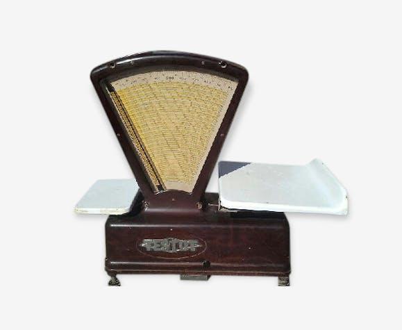 balance d 39 picier testut t le maill e marron vintage 7dbksfg. Black Bedroom Furniture Sets. Home Design Ideas