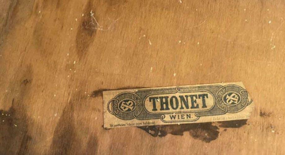 Thonet Wien porte manteau époque 1890