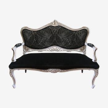 Canapé ou banquette  style louis XV