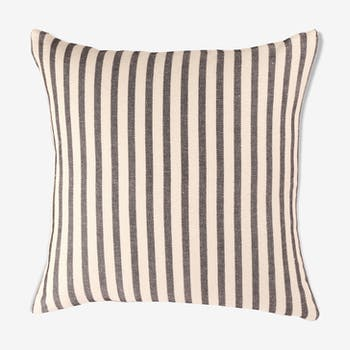 Cushion cover in cotton and linen 45 x 45 cm