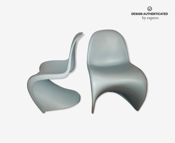 Pair of chairs by Verner Panton for Vitra