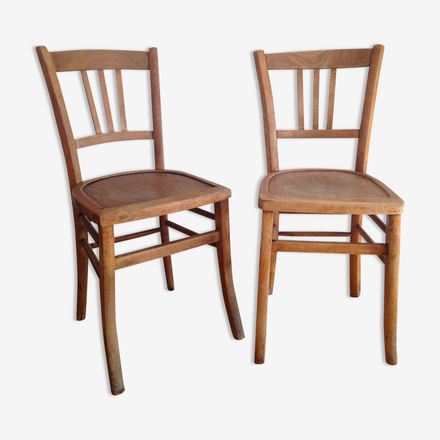 Pair of bistro luterma chairs