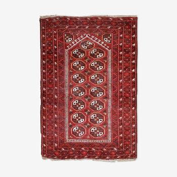 Former carpet Afghan Adraskand done hand 82cm x 115cm 1920 s
