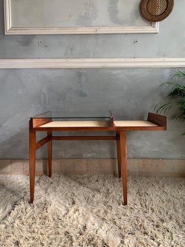 Roger Landault wicker desk