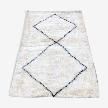 Tapis beni ouarain tapis berbère 155x110cm