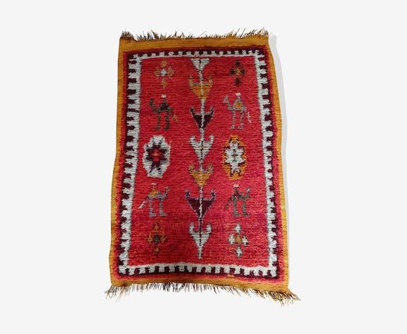 Tapis marocain ancien 100x61 cm
