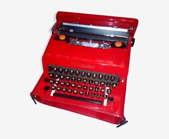 Machine à écrie Valentine Sottsass pour Olivetti