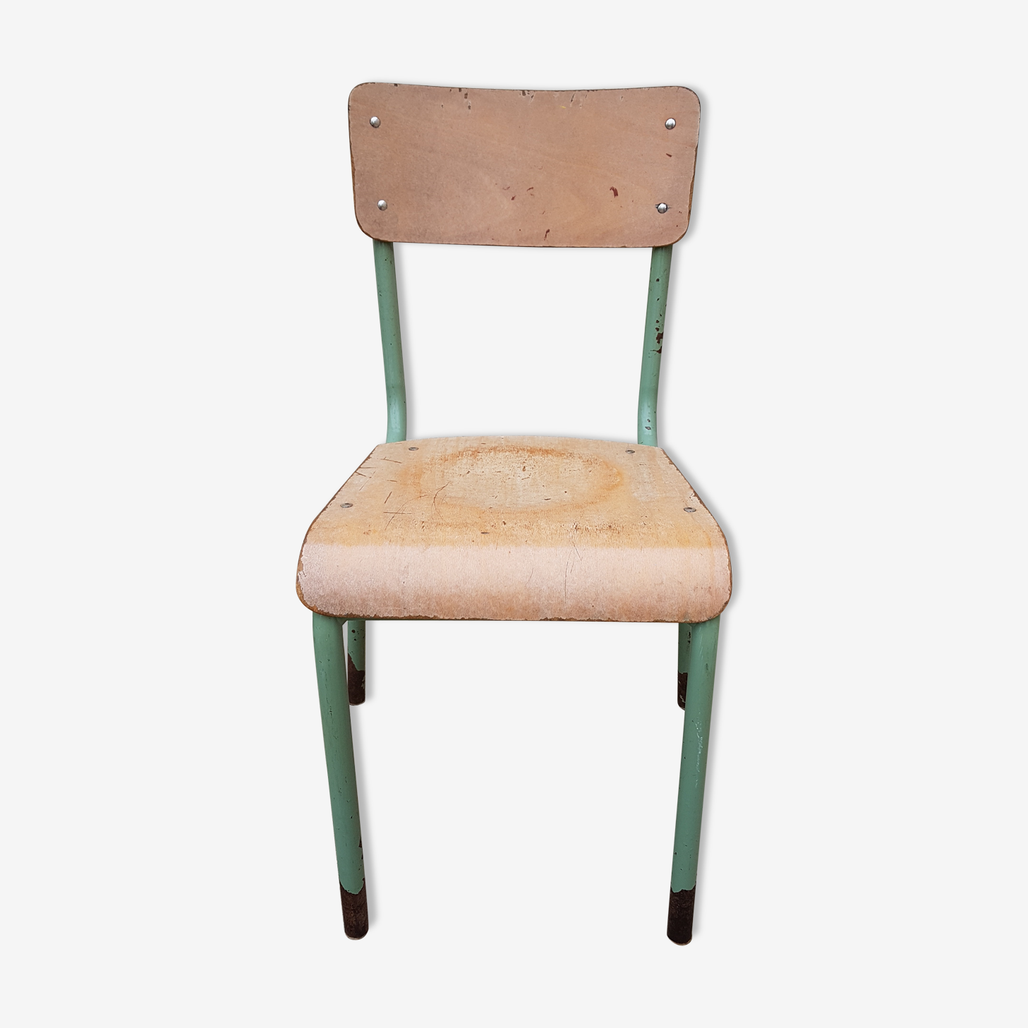 Old adult school Mullca chair