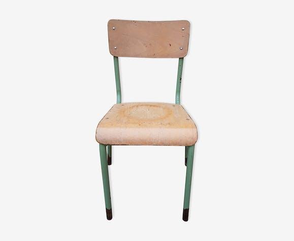 Old adult school Mullca chair